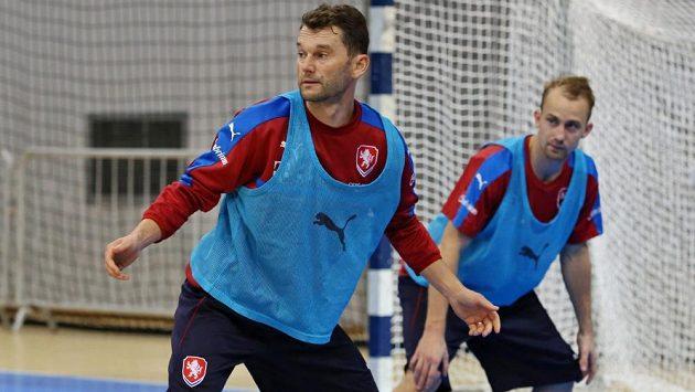 Legenda české futsalové reprezentace Roman Mareš