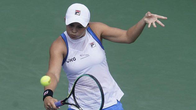 Australská tenistka Ashleigh Bartyová na Southern Open v Cincinnatti.