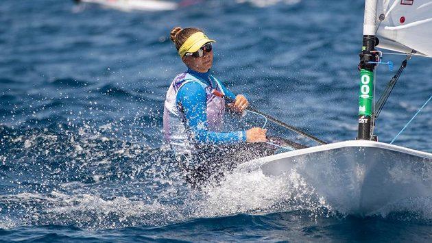 Alessia Palanti vybojovala pro Českou republiku bronz na mistrovství Evropy do 21 let v olympijské třídě ILCA 6 (Laser Radial)