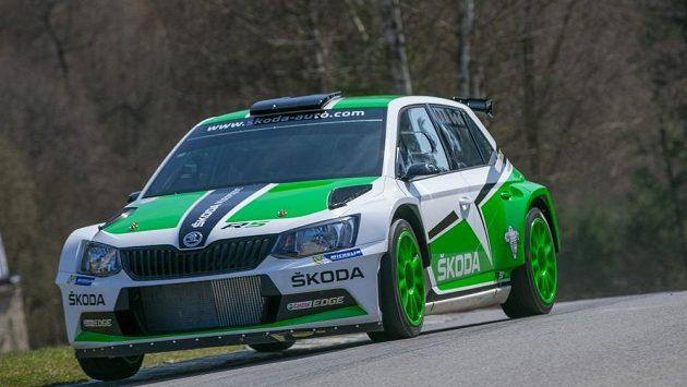 Nová Škoda Fabia R5 mladoboleslavského továrního týmu R5.
