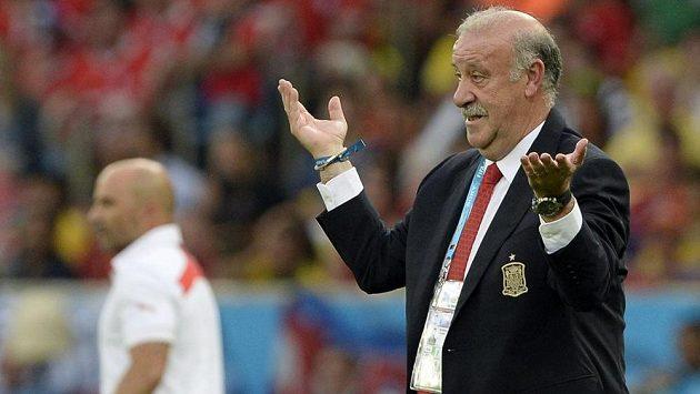 Trenér španělských fotbalistů Vicente Del Bosque nechápal, co se v duelu proti Chile s jeho týmem stalo.