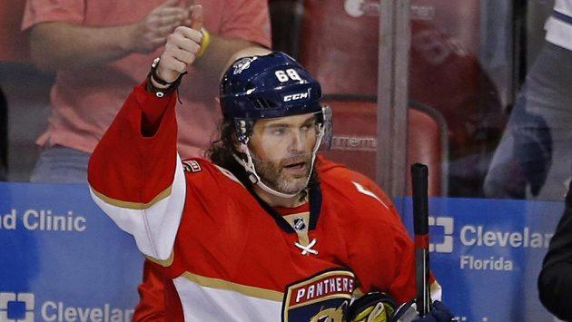 Jaromír Jágr byl v NHL vyhlášen největší hvězdou týdne.