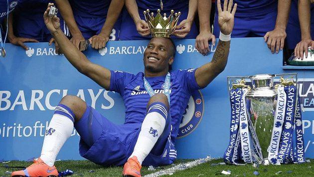 Největší úspěchy sklízel Didier Drogba v dresu londýnské Chelsea.