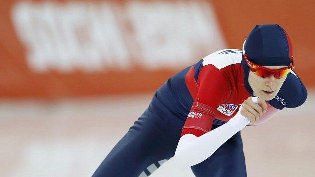 Martina Sáblíková na olympijské trati na 5000 metrů. O novém projektu nic neví.