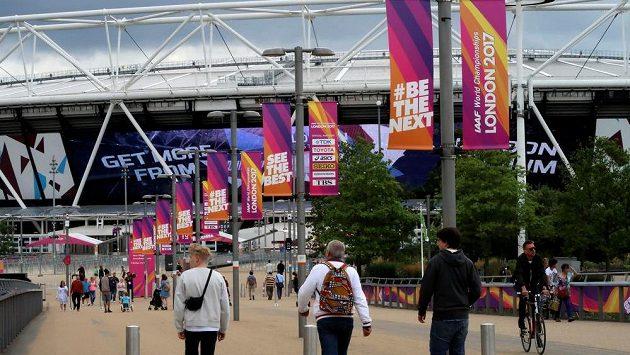Stadión v Londýně je připraven, MS může začít.
