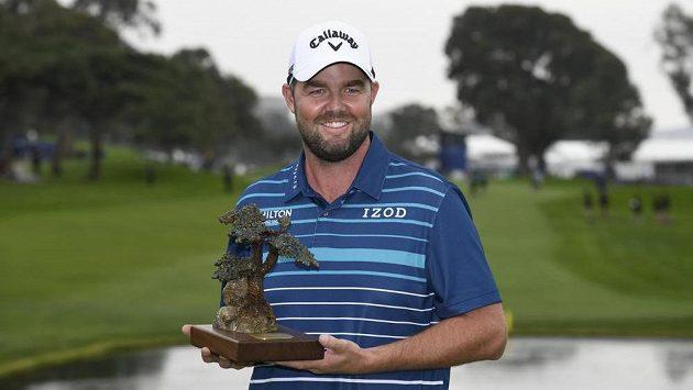 Australský golfista Marc Leishman se dočkal na hřišti Torrey Pines vítězství.