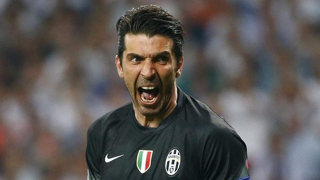 Gólman Juventusu Gianluigi Buffon