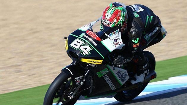 Jakub Kornfeil, český jezdec ve tříde Moto3.