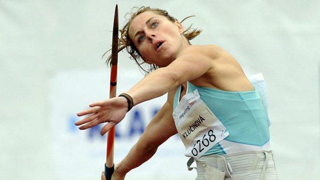 Eliška Klučinová vyhrála v Kladně sedmiboj v českém rekordu 6283 bodů