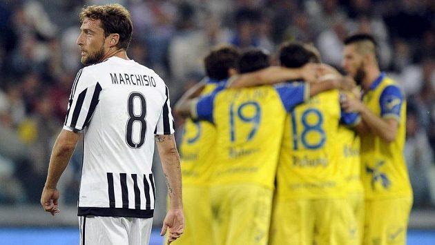 Záložník Juventusu Claudio Marchisio.