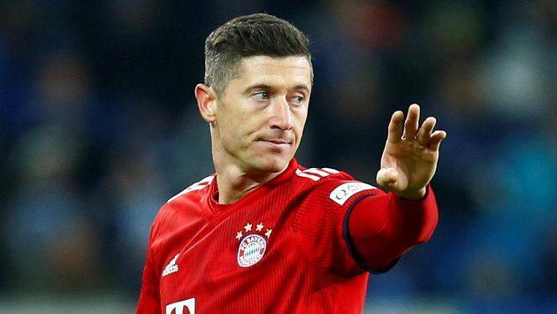 Kanonýr Bayernu Mnichov Robert Lewandowski měl v zápase s leverkusenem smůlu. Zasáhlo video a jeho gól neplatil.