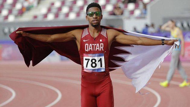Druhý nejrychlejší překážkář historie Abderrahman Samba.