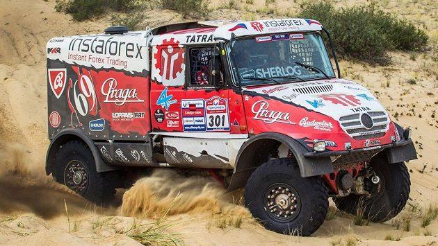 Aleš Loprais na Silk Way Rallye.
