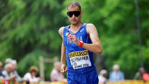 Italský chodec Alex Schwazer.