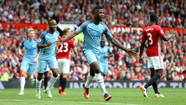 Útočník Kelechi Iheanacho přidal druhý gól Manchesteru City.