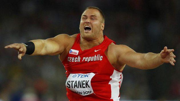 Tomáš Staněk ve finále mistrovství světa.