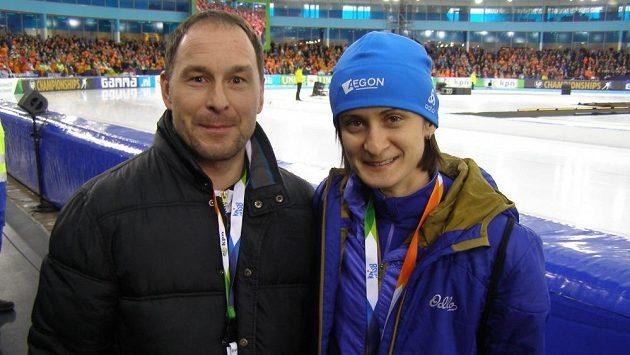 Jan Cuřín je od letošní sezóny osobním masérem a fyzioterapeutem Martiny Sáblíkové.