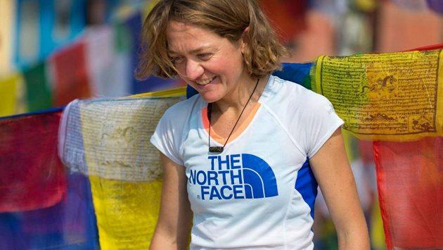 Běžkyně Lizzy Hawkerová.