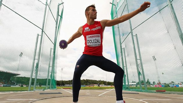 Jan Doležal, nový juniorský mistr Evropy v desetiboji.