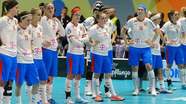 Velké zklamání bylo po semifinálové prohře na českých hráčkách jasně vidět.