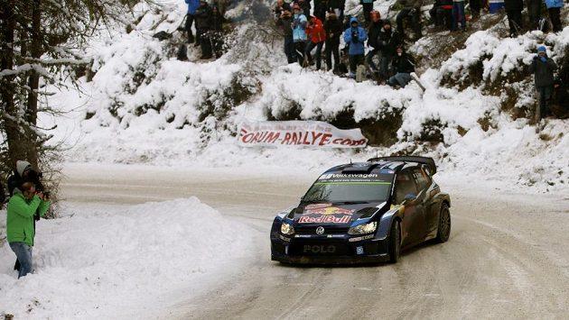 Sébastien Ogier s Volkswagenem Polo WRC na archivním snímku.