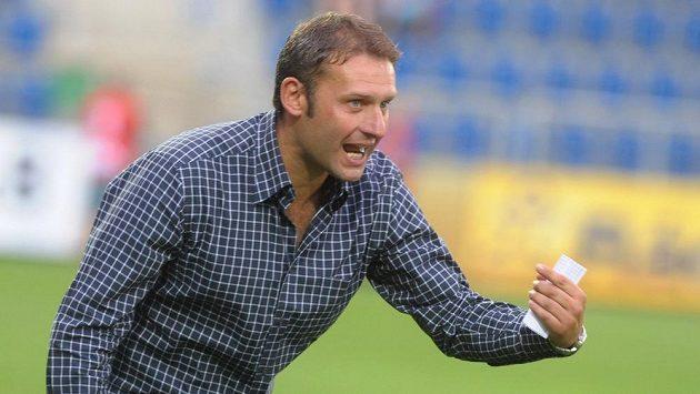 Trenér fotbalistů Slovácka Svatopluk Habanec.