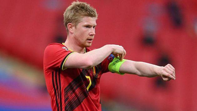Belgičanům bude na Islandu chybět zraněný klíčový záložník Kevin De Bruyne.