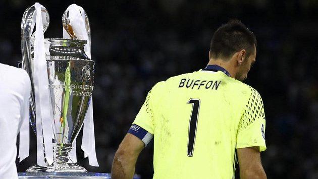 Brankář Juventusu Gianluigi Buffon se vytoužené trofeje opět nedočkal.
