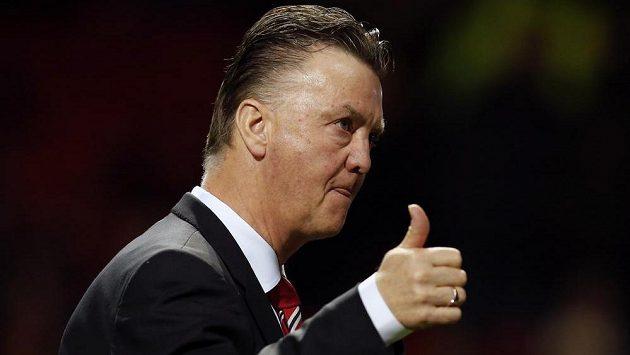 Manažer Manchesteru United Louis Van Gaal po vítězství nad Cambridge.