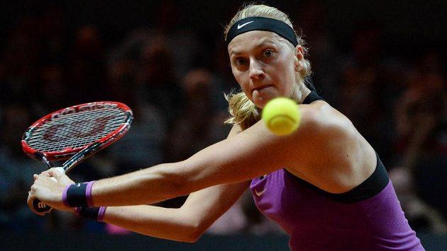 Petra Kvitová v semifinále turnaje ve Stuttgartu neuspěla.