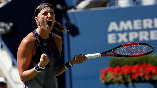 Petra Kvitová bude na US Open usilovat o čtvrtfinále.