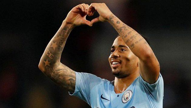 Gabriel Jesus z Manchesteru City.