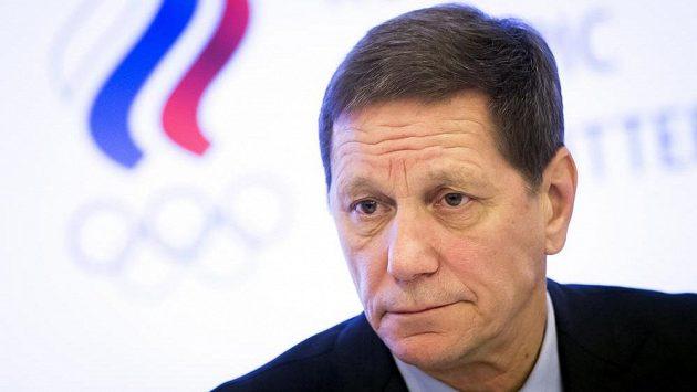 Předseda Ruského olympijského výboru Alexandr Žukov