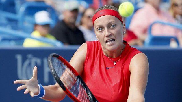 Petra Kvitová na ilustračním snímku z turnaje v Cincinnati.