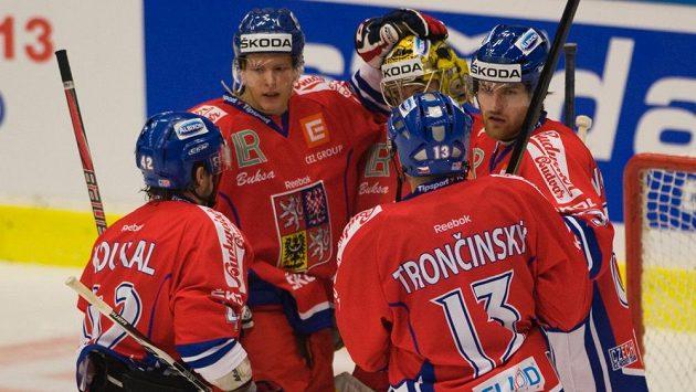 Čeští hokejisté čeká další přípravný zápas před mistrovstvím.