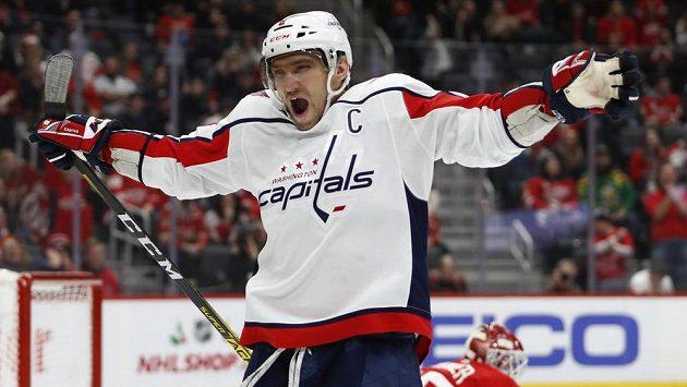 Nestárnoucí Ovečkin vstřelil svůj 24. hattrick v NHL.
