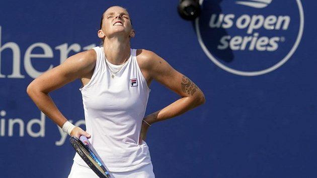 Česká tenistka Karolína Plíšková si o titul na turnaji v Cincinnati nezahraje.