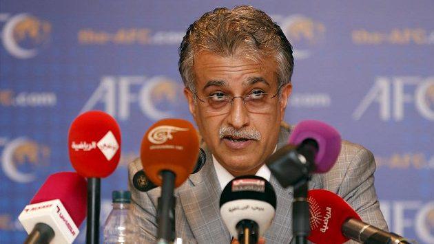Bahrajnský šejk Salmán bin Ibráhím Chalífa se oficiálně přihlásil jako kandidát na prezidenta FIFA.