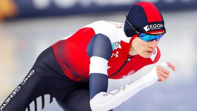 Martina Sábliková v Hamaru na cestě k vítězství na trati 3000 m.
