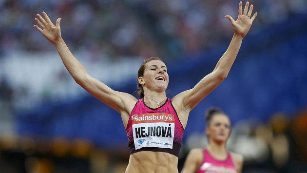 Zuzana Hejnová míří do Moskvy jako největší favoritka čtvrtky překážek.