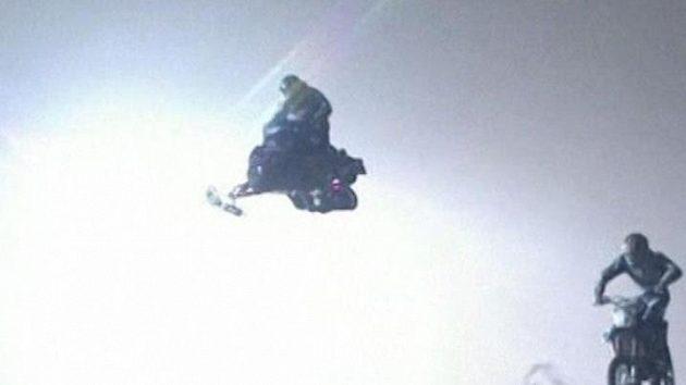 Rekordní skoky na sněhu