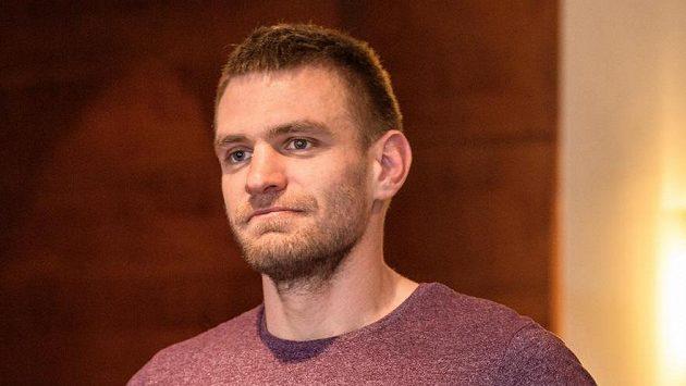 Ondřej Synek před slavnostním vyhlášení ankety Sportovec roku 2017.