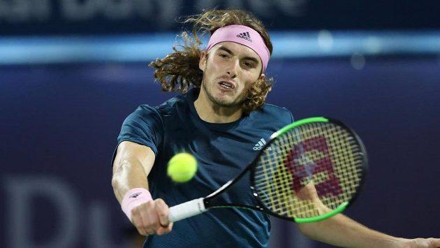 Řek Stefanos Tsitsipas se titulu ze čtyřhry na turnaji v Miami nedočkal.