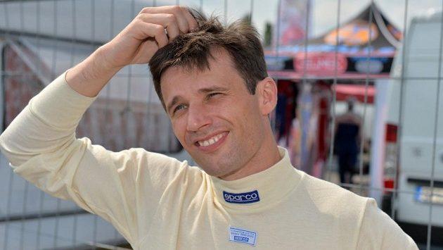 Roman Kresta se musel spokojit na Rallyesprintu Kopná s druhým místem.