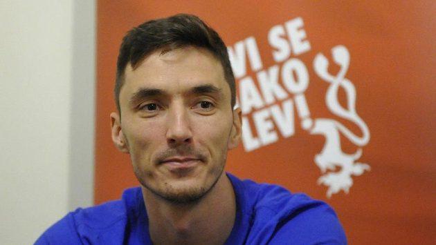 Český basketbalista Jiří Welsch