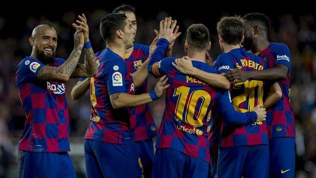 Fotbalisté Barcelony mají důvod ke spokojenosti