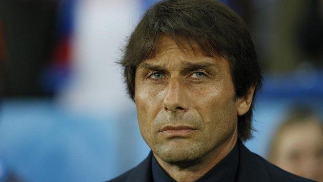 Trenér Itálie Antonio Conte.