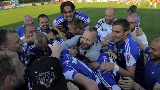 Po A-týmu Sigmy Olomouc (na snímku) slaví také béčko Hanáků