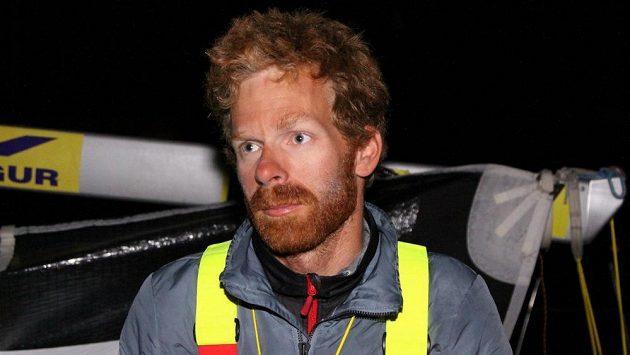 Jachtař Milan Koláček během závodu La Solitaire Urgo Le Figaro.