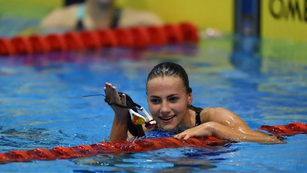 Plavkyně Barbora Seemanová